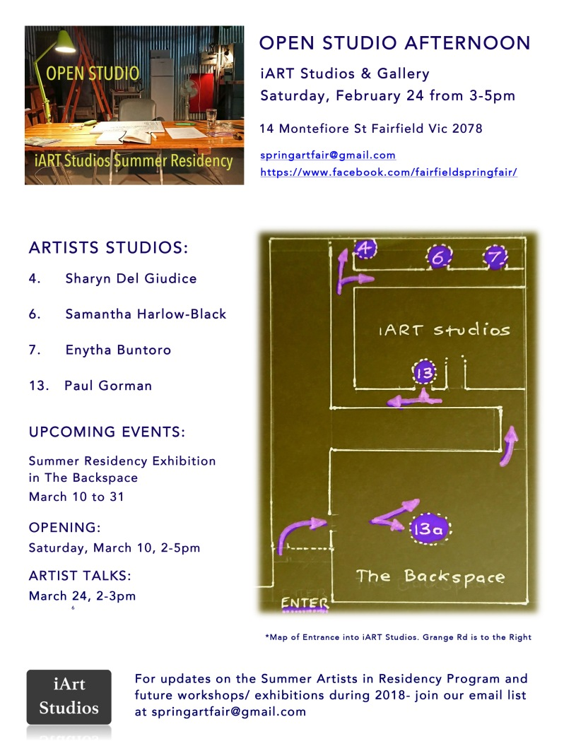 Microsoft Word - OPEN STUDIO AFTERNOON Flyer Feb 24 2018.docx