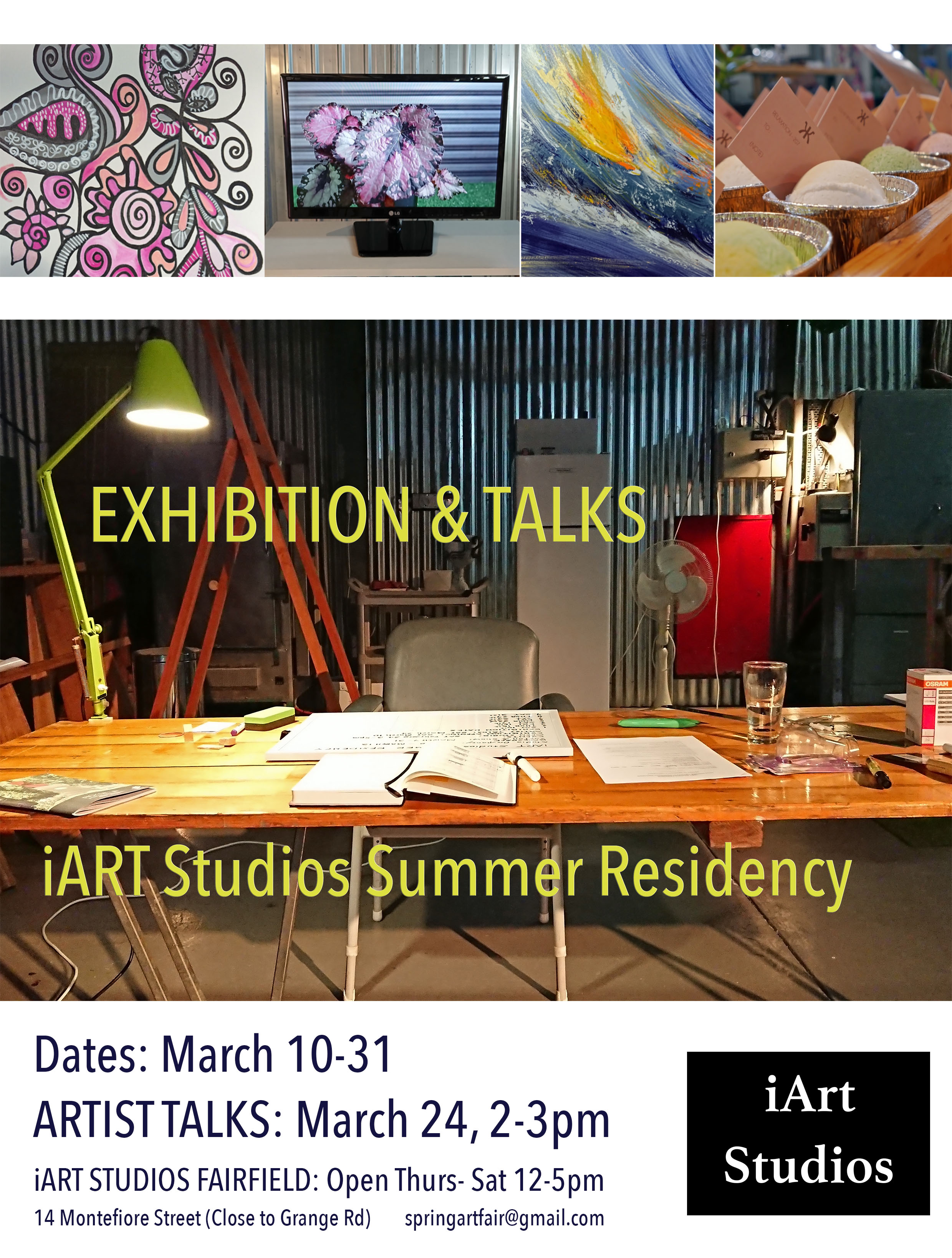 Group Exhibition at iART Studios now on