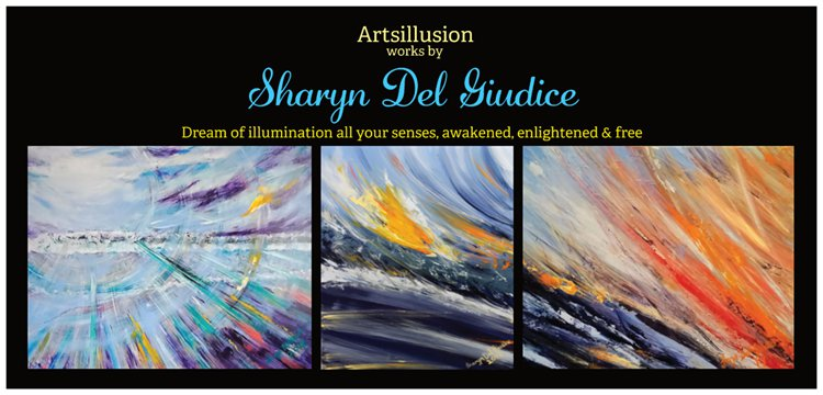 Sharyn Del Giudice DL postcard front